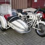 Moto BMW com Sidecar